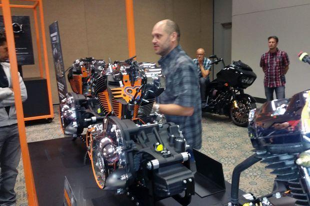 Le nouveau 107 de Harley-Davidson préserve les sensations classiques des motos de la marque.