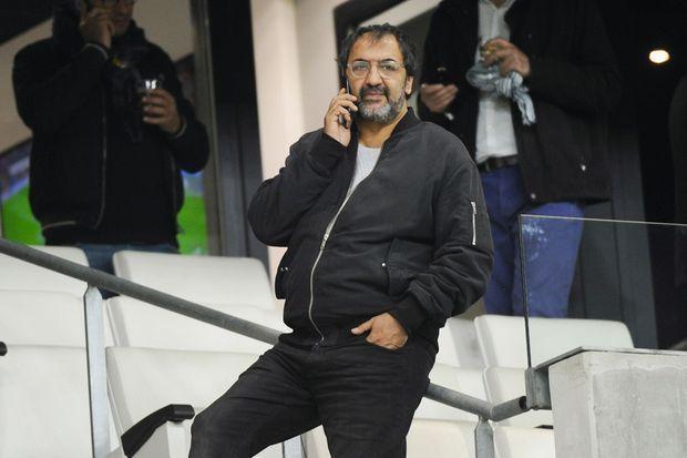 Moussa Maaskri, au stade Vélodrome en 2017.