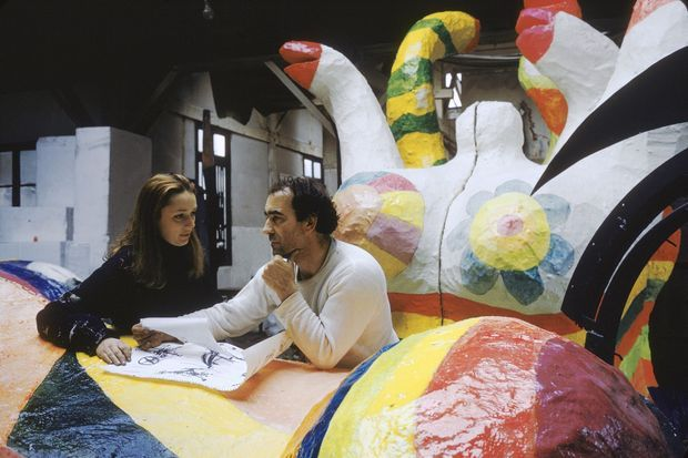 Niki et Jean Tinguely, en 1967. Ils vivent d'amour et d'art depuis six ans.