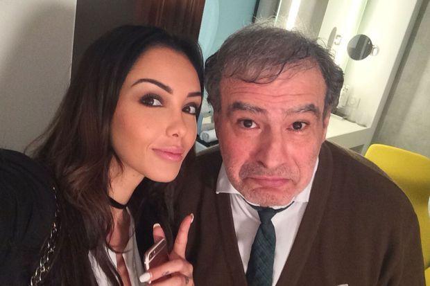 Nabilla et Raphaël Mezrahi
