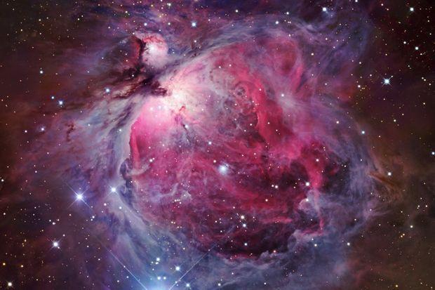 Naissance d'une étoile dans la nébuleuse d'Orion