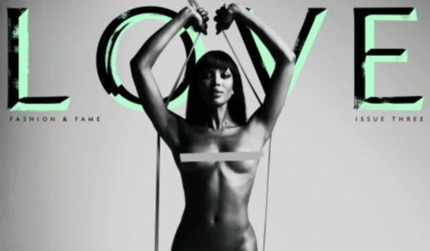 Naomi Campbell nue pour Haïti-