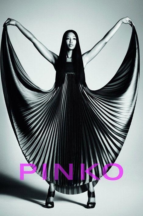 Naomi Campbell pour la campgan Pinko 2012