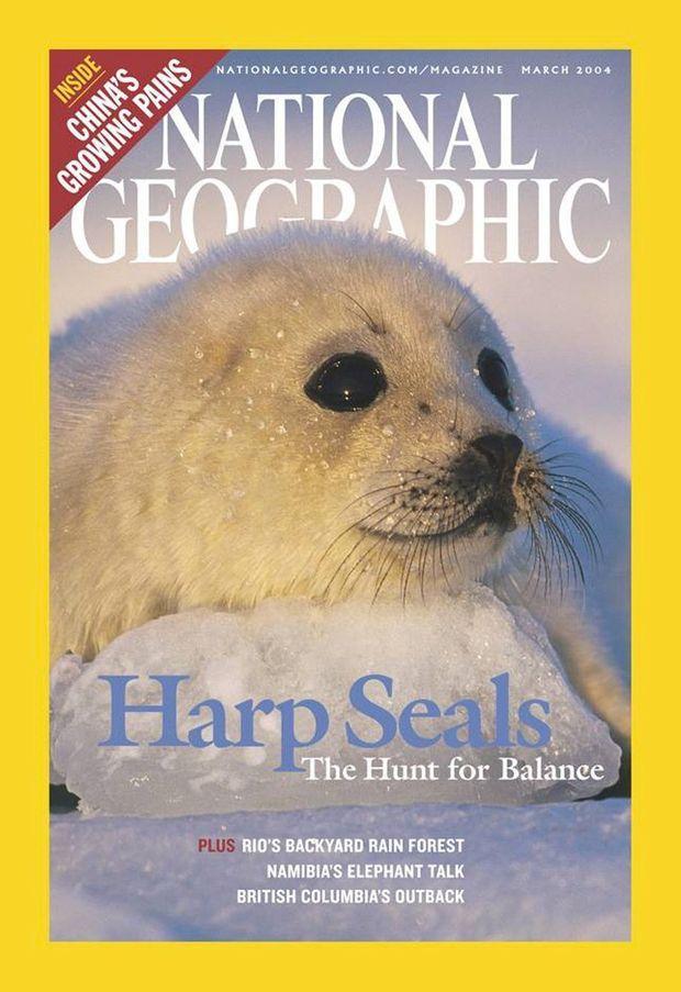 La couverture de «National Geographic» par Brian Skerry.