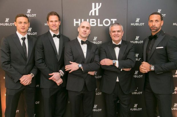 Nemanja Matic, Asmir Begovic, Maxime Büchi, Ricardo Guadalupe, Rio Ferdinand