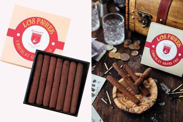 Les cigares chocolatés Edwart.
