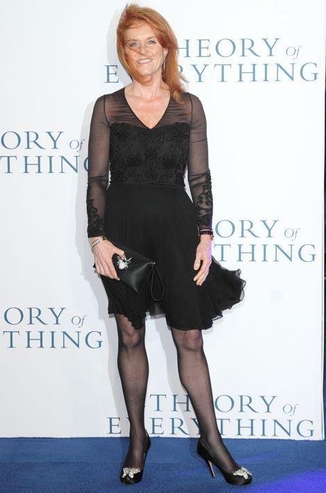 Sarah Ferguson à Londres, le 9 décembre 2014