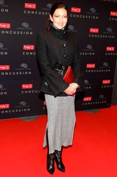 La comtesse Alexandra de Frederiksborg à l'Imperial Cinema à Copenhague, le 16 mars 2016