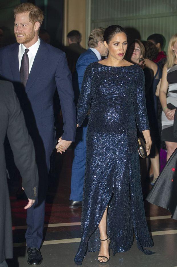 Meghan Markle et le prince Harry à Londres, le 16 janvier 2019