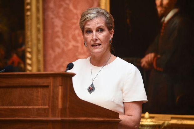 La comtesse Sophie de Wessex à Londres, le 29 octobre 2019