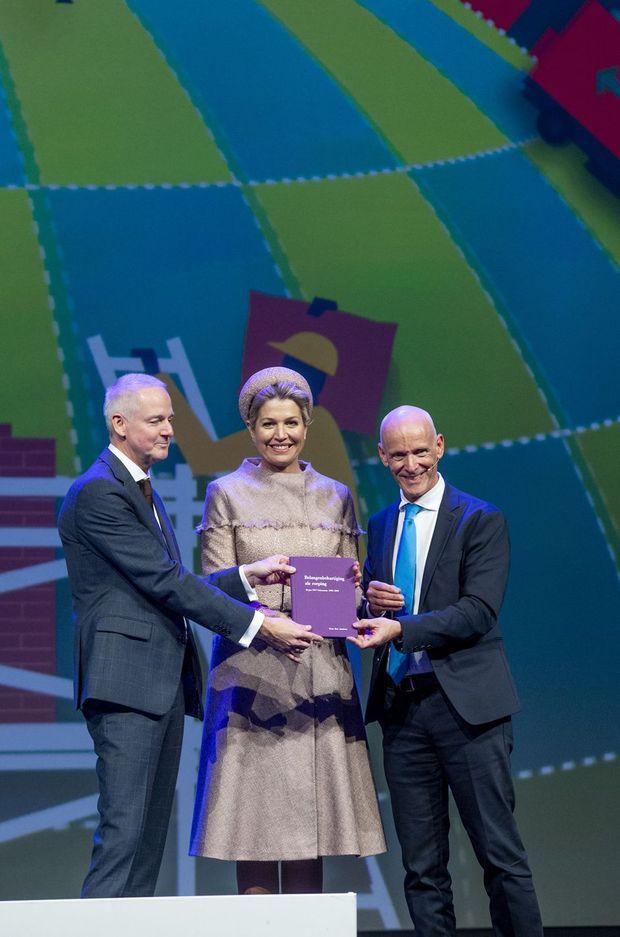 La reine Maxima des Pays-Bas à Nieuwegein, le 29 novembre 2019