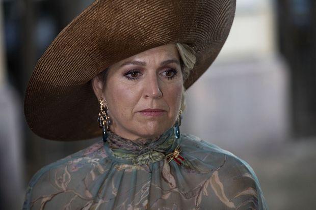 La reine Maxima des Pays-Bas à Berlin, le 7 juillet 2021