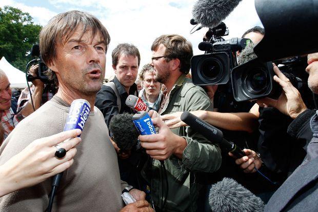 Nicolas Hulot sur place en juillet 2011.