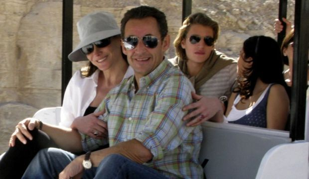 Nicolas Sarkozy Carla Bruni Jean et Jessica-