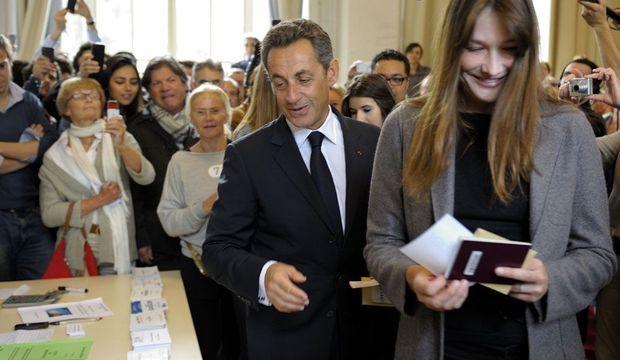Nicolas Sarkozy Carla Bruni-Sarkozy Législatives-
