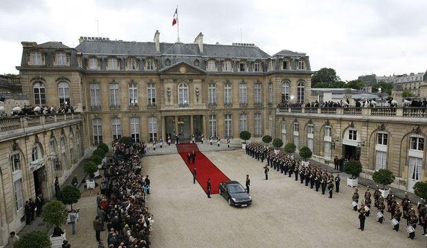 Nicolas Sarkozy Investiture 2007-