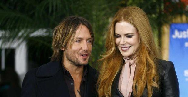 Nicole Kidman et Keith Urban-