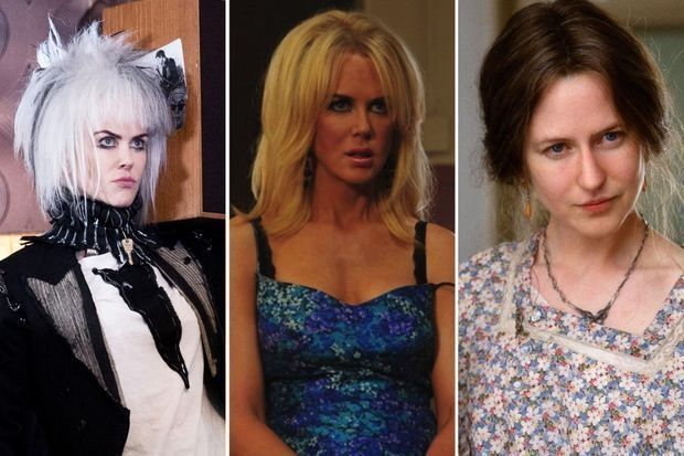 "Nicole Kidman dans ""How to talk to girls at parties"", ""Paperboy"" et ""The Hours"""