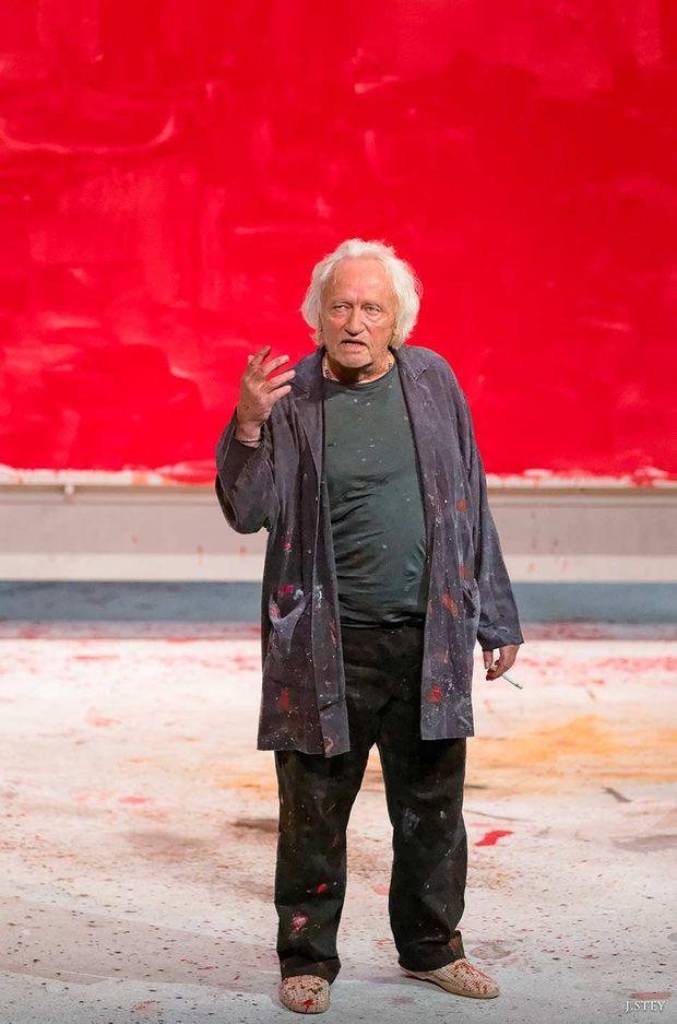 Niels Arestrup dans «Rouge».