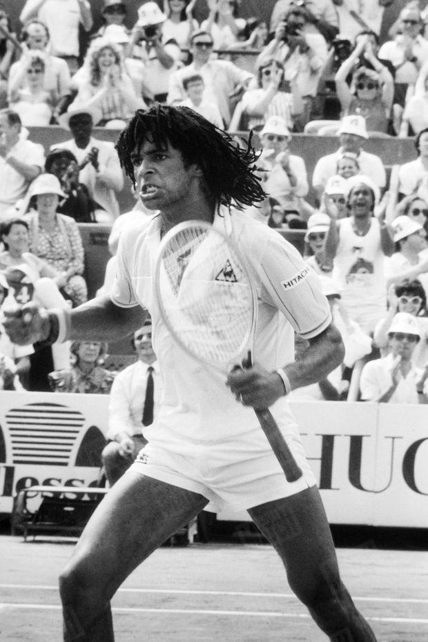 « Et maintenant, à chaque faute de Wilander, je gueule, c'est plus fort que moi » - Paris Match n°1777, 17 juin 1983