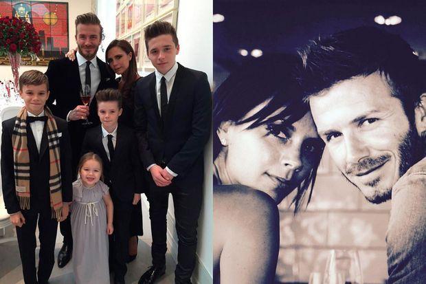 Victoria et David Beckham ont fêté leurs 16 ans de mariage.