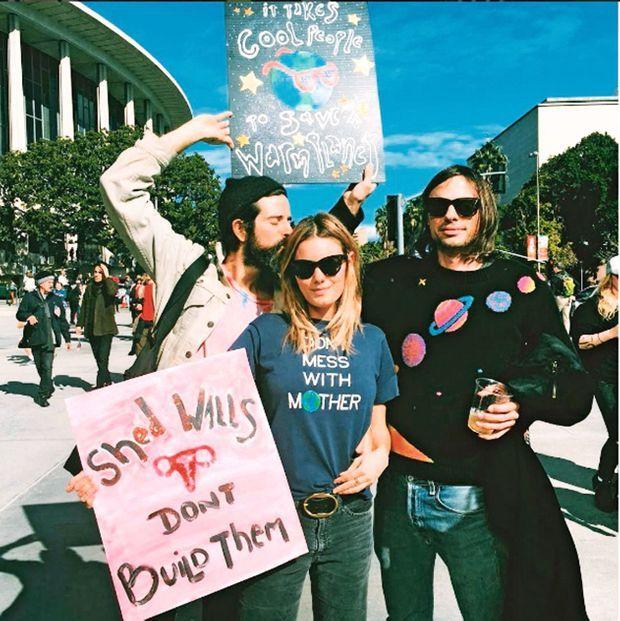 « Non à l'édification des murs ». Le 22 janvier, à la marche des femmes contre Donald Trump, à Los Angeles.