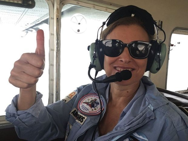 Notre reporter à bord de l'un des Cirrus 20 de l'armée de l'air.