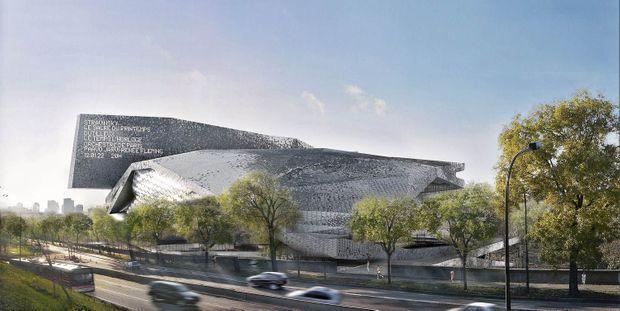 La Philharmonie de Paris, parc de la Villette. Inauguration prévue début 2015.