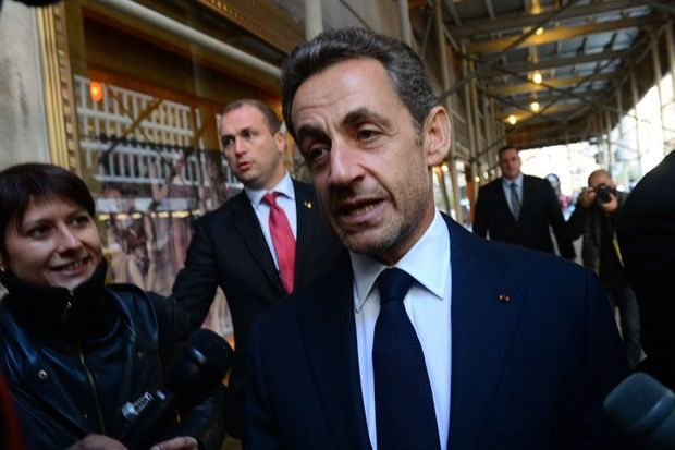 Nicolas Sarkozy en octobre 2012 à New York.