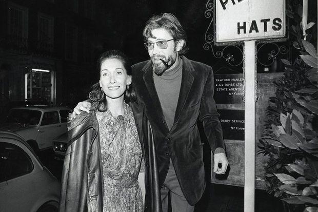 Peter O'Toole et son épouse Sian Phillips en mars 1971.