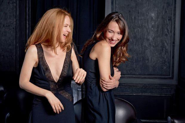 Odile Vuillemin («Profilage», TF1) et Annelise Hesme («Nina», France 2).