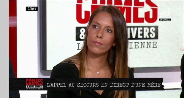 """Le 9 septembre, lors de l'émission """"Crime et faits divers"""" sur NRJ12."""
