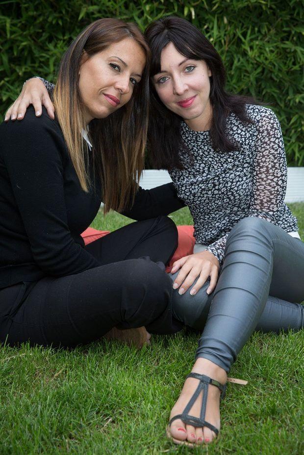 Hanan et Laura.