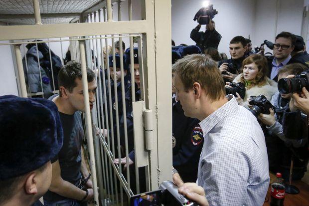 Oleg et Alexeï Navalny.