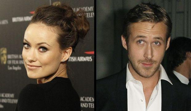 Olivia Wilde et Ryan Gosling montage-