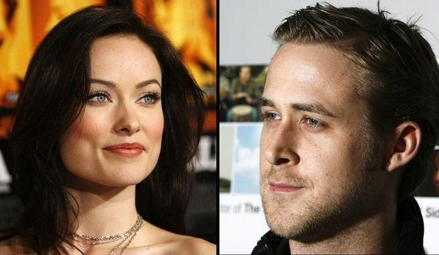 Olivia Wilde, Ryan Gosling montage-