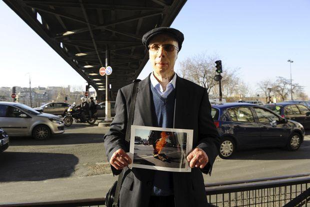 Un des survivants de l'immolation à Paris.