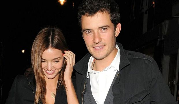 Orlando Bloom Miranda Kerr-