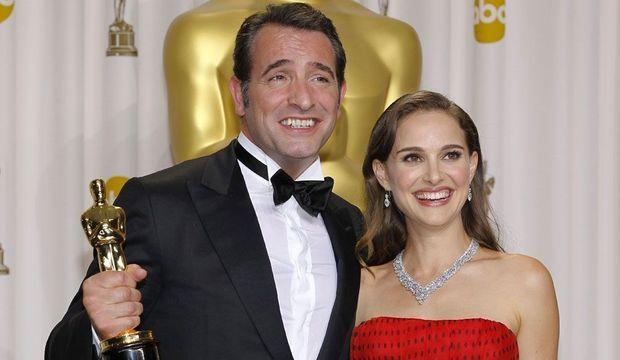 Oscars Jean Dujardin Natalie Portman-