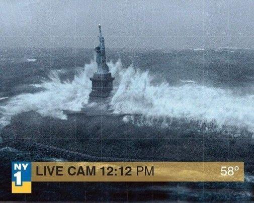 Ouragan Fake-