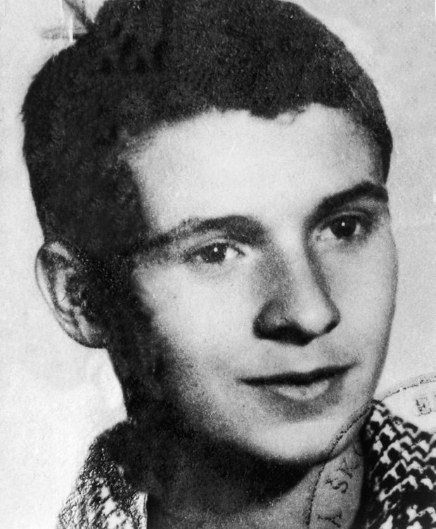 Jan Palach en 1965.