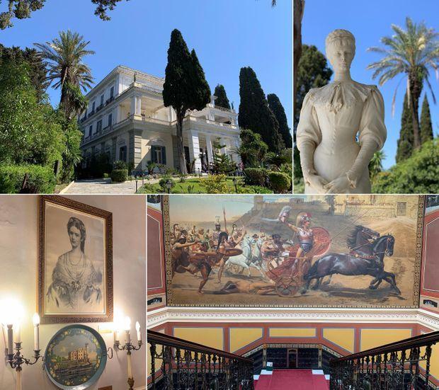 Le Palais d'Achille.