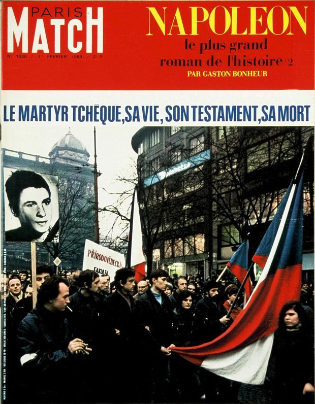 La couverture de Paris Match n°1030, daté du 1er février 1969.