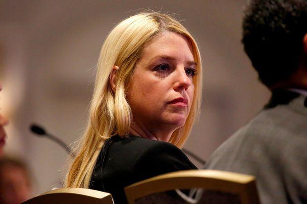 Pam Bondi, l'ancienne procureure générale de Floride.