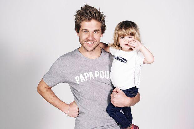 """Un T-shirt spécial """"papa poule"""" !"""