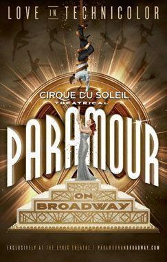 « Paramour », Lyric Theatre de New York, jusqu'au 20 novembre.