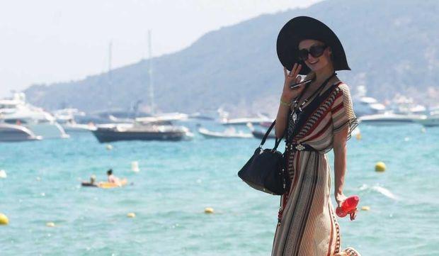 Paris Hilton à Saint-Tropez-