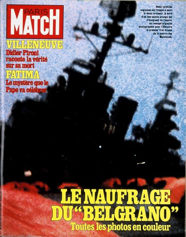 PARIS MATCH N° 1721, 21 MAI 1982