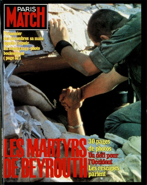 PARIS MATCH N° 1797, 4 NOVEMBRE 1983