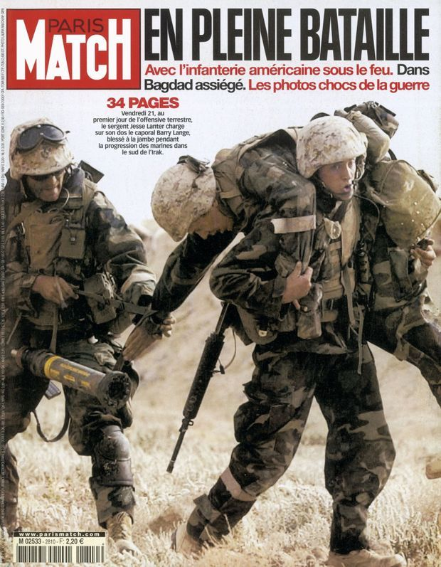 PARIS MATCH N° 2810, 27 MARS 2003
